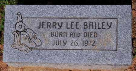 BAILEY, JERRY LEE - Marion County, Arkansas | JERRY LEE BAILEY - Arkansas Gravestone Photos
