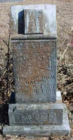 BAKER, JOSHUA - Marion County, Arkansas | JOSHUA BAKER - Arkansas Gravestone Photos