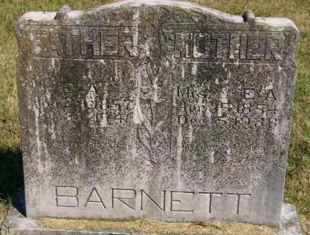 BARNETT, ARTILISSA MELISSA - Marion County, Arkansas | ARTILISSA MELISSA BARNETT - Arkansas Gravestone Photos