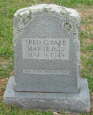 BARR, FRED C. - Marion County, Arkansas | FRED C. BARR - Arkansas Gravestone Photos
