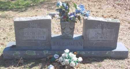 BAUGHMAN, JOHN L. - Marion County, Arkansas   JOHN L. BAUGHMAN - Arkansas Gravestone Photos