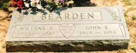 SWINK BEARDEN, WILLENE E. - Marion County, Arkansas | WILLENE E. SWINK BEARDEN - Arkansas Gravestone Photos