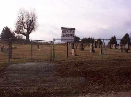 *BECKHAM CEMETERY SIGN,  - Marion County, Arkansas |  *BECKHAM CEMETERY SIGN - Arkansas Gravestone Photos