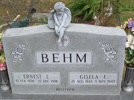 BEHM, ERNEST L. - Marion County, Arkansas | ERNEST L. BEHM - Arkansas Gravestone Photos