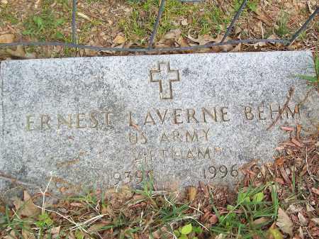 BEHM (VETERAN VIET), ERNEST LAVERNE - Marion County, Arkansas   ERNEST LAVERNE BEHM (VETERAN VIET) - Arkansas Gravestone Photos