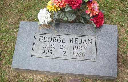 BEJAN, GEORGE - Marion County, Arkansas | GEORGE BEJAN - Arkansas Gravestone Photos