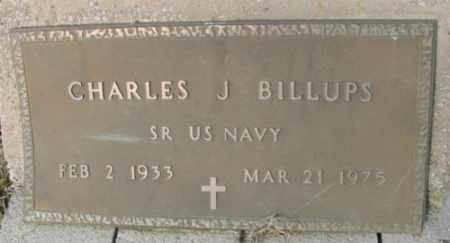 BILLUPS (VETERAN), CHARLES J. - Marion County, Arkansas   CHARLES J. BILLUPS (VETERAN) - Arkansas Gravestone Photos