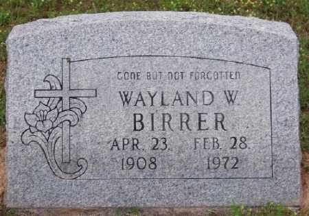 BIRRER, WAYLAND W. - Marion County, Arkansas | WAYLAND W. BIRRER - Arkansas Gravestone Photos