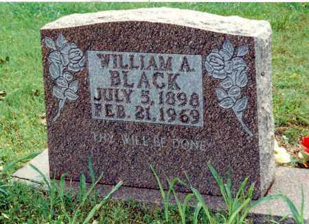 BLACK, WILLIAM AUSTIN - Marion County, Arkansas   WILLIAM AUSTIN BLACK - Arkansas Gravestone Photos