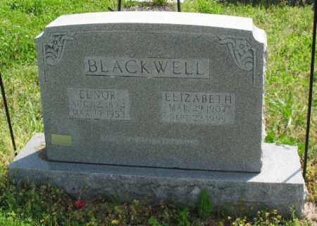 BLACKWELL, ELNOR - Marion County, Arkansas | ELNOR BLACKWELL - Arkansas Gravestone Photos