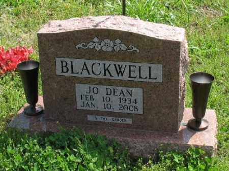 BLACKWELL, JO DEAN - Marion County, Arkansas | JO DEAN BLACKWELL - Arkansas Gravestone Photos