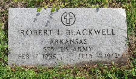 BLACKWELL (VETERAN), ROBERT L - Marion County, Arkansas | ROBERT L BLACKWELL (VETERAN) - Arkansas Gravestone Photos