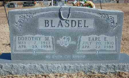 WARREN BLASDEL, DOROTHY M. - Marion County, Arkansas | DOROTHY M. WARREN BLASDEL - Arkansas Gravestone Photos
