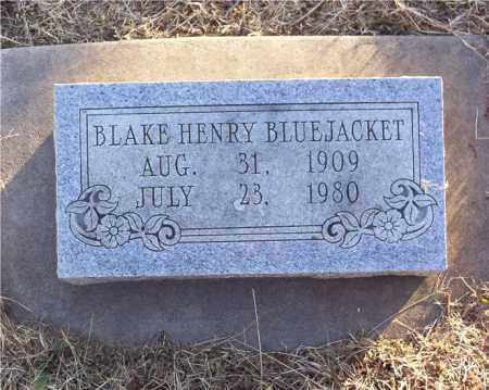 BLUEJACKET, BLAKE HENRY - Marion County, Arkansas | BLAKE HENRY BLUEJACKET - Arkansas Gravestone Photos