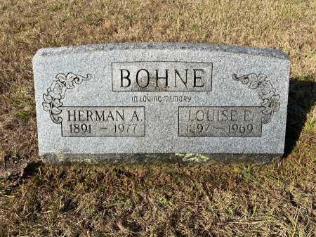 BOHNE, HERMAN A. - Marion County, Arkansas   HERMAN A. BOHNE - Arkansas Gravestone Photos