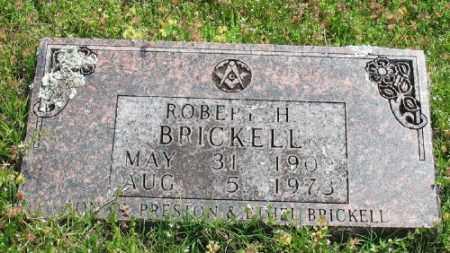 BRICKELL, ROBERT H. - Marion County, Arkansas | ROBERT H. BRICKELL - Arkansas Gravestone Photos