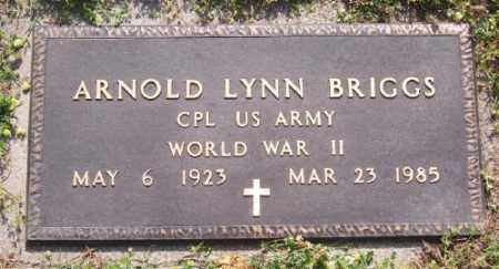 BRIGGS  (VETERAN WWII), ARNOLD LYNN - Marion County, Arkansas | ARNOLD LYNN BRIGGS  (VETERAN WWII) - Arkansas Gravestone Photos