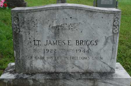 BRIGGS  (VETERAN WWII), JAMES E. - Marion County, Arkansas | JAMES E. BRIGGS  (VETERAN WWII) - Arkansas Gravestone Photos