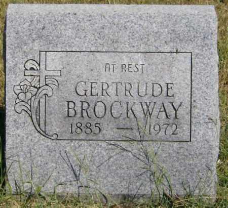 BROCKWAY, GERTRUDE - Marion County, Arkansas | GERTRUDE BROCKWAY - Arkansas Gravestone Photos