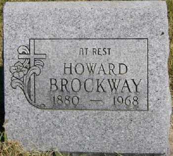 BROCKWAY, HOWARD - Marion County, Arkansas | HOWARD BROCKWAY - Arkansas Gravestone Photos