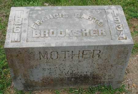 BROOKSHER, FRANCIS BARTO - Marion County, Arkansas | FRANCIS BARTO BROOKSHER - Arkansas Gravestone Photos