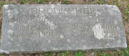 BROOKSHER, T. D. - Marion County, Arkansas | T. D. BROOKSHER - Arkansas Gravestone Photos