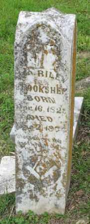 BROOKSHER, WM. RILEY - Marion County, Arkansas | WM. RILEY BROOKSHER - Arkansas Gravestone Photos
