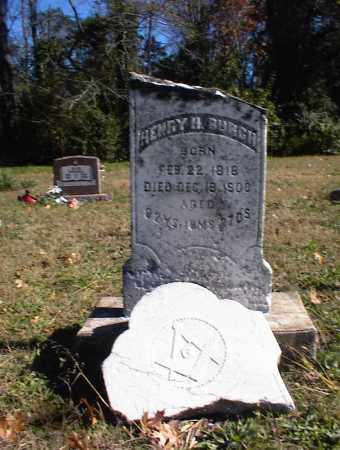 BURCH, HENRY HARDIN - Marion County, Arkansas   HENRY HARDIN BURCH - Arkansas Gravestone Photos