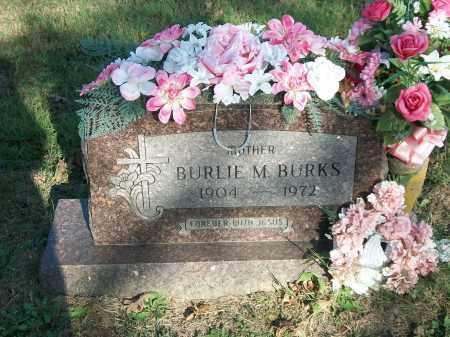 BURKS, BURLIE M. - Marion County, Arkansas | BURLIE M. BURKS - Arkansas Gravestone Photos