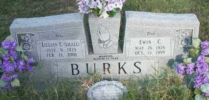 BURKS, LILLIAN E. - Marion County, Arkansas | LILLIAN E. BURKS - Arkansas Gravestone Photos