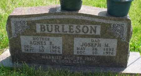 RICHEY BURLESON, AGNES R. - Marion County, Arkansas | AGNES R. RICHEY BURLESON - Arkansas Gravestone Photos