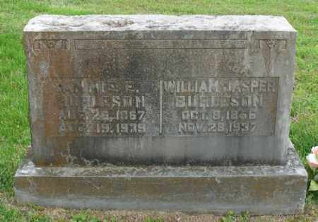 PERRY BURLESON, ANNIE E. - Marion County, Arkansas | ANNIE E. PERRY BURLESON - Arkansas Gravestone Photos