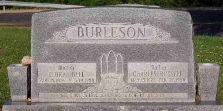 WEAST BURLESON, FLORA BELL - Marion County, Arkansas | FLORA BELL WEAST BURLESON - Arkansas Gravestone Photos