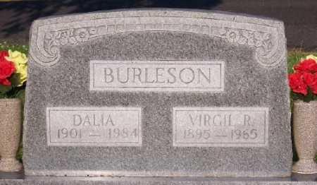 BURLESON, VIRGIL R. - Marion County, Arkansas   VIRGIL R. BURLESON - Arkansas Gravestone Photos