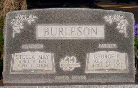 BURLESON, GEORGE B. - Marion County, Arkansas   GEORGE B. BURLESON - Arkansas Gravestone Photos
