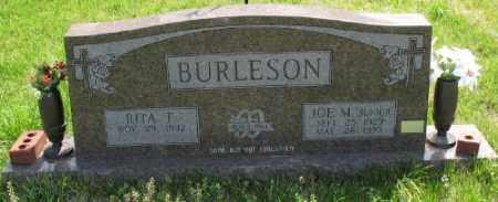 BURLESON JR., JOE M. - Marion County, Arkansas   JOE M. BURLESON JR. - Arkansas Gravestone Photos