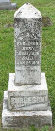 BURLESON, NEACY - Marion County, Arkansas | NEACY BURLESON - Arkansas Gravestone Photos