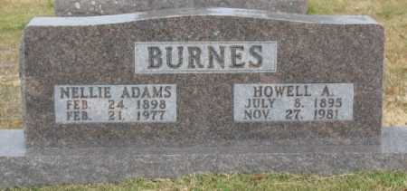 BURNES, NELLIE - Marion County, Arkansas   NELLIE BURNES - Arkansas Gravestone Photos
