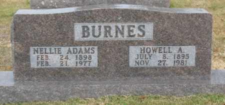 BURNES, HOWELL A. - Marion County, Arkansas | HOWELL A. BURNES - Arkansas Gravestone Photos