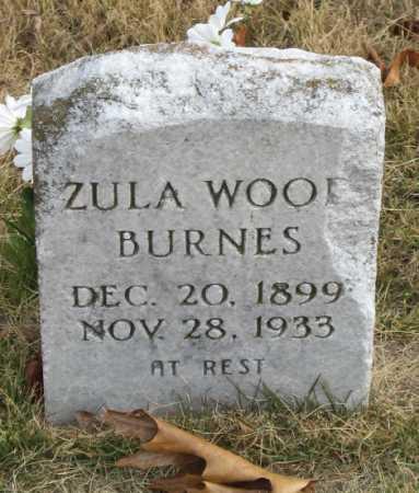 BURNES, ZULA - Marion County, Arkansas   ZULA BURNES - Arkansas Gravestone Photos