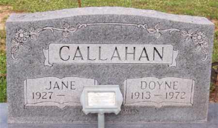 CALLAHAN, DOYNE - Marion County, Arkansas | DOYNE CALLAHAN - Arkansas Gravestone Photos