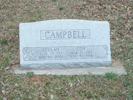 CAMPBELL, BEULAH - Marion County, Arkansas | BEULAH CAMPBELL - Arkansas Gravestone Photos