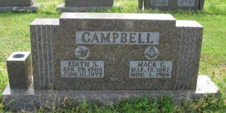 CAMPBELL, EDITH S. - Marion County, Arkansas | EDITH S. CAMPBELL - Arkansas Gravestone Photos
