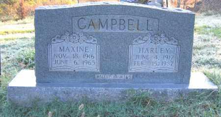 CAMPBELL, HARLEY C - Marion County, Arkansas | HARLEY C CAMPBELL - Arkansas Gravestone Photos