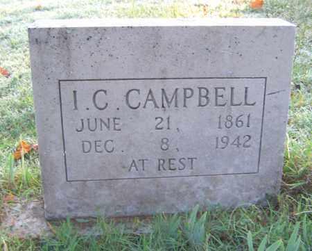 CAMPBELL, ISAAC C - Marion County, Arkansas | ISAAC C CAMPBELL - Arkansas Gravestone Photos