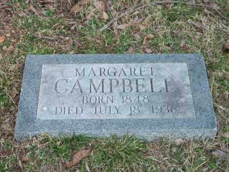CAMPBELL, MARGARET - Marion County, Arkansas | MARGARET CAMPBELL - Arkansas Gravestone Photos