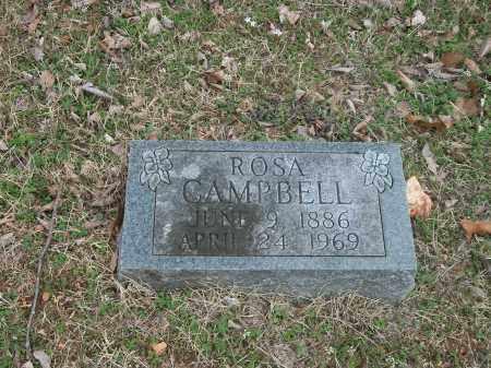 CAMPBELL, ROSA - Marion County, Arkansas | ROSA CAMPBELL - Arkansas Gravestone Photos