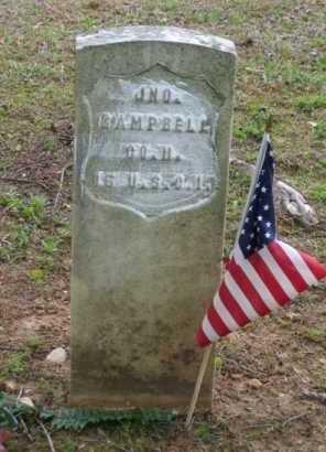CAMPBELL (VETERAN UNION), JOHN - Marion County, Arkansas | JOHN CAMPBELL (VETERAN UNION) - Arkansas Gravestone Photos