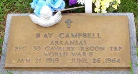 CAMPBELL (VETERAN WWII), RAY - Marion County, Arkansas   RAY CAMPBELL (VETERAN WWII) - Arkansas Gravestone Photos