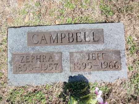 CAMPBELL, ZEPHRA - Marion County, Arkansas | ZEPHRA CAMPBELL - Arkansas Gravestone Photos